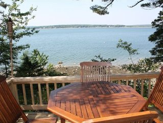 Quiet, Romantic, Ocean Front, 1 Bedroom Cottage -Pet Friendly!