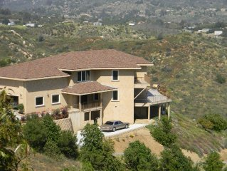 San Diego Extreme View Mountain Top Property
