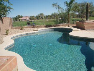 4 Bdrm 2.5 Bath, Private Pool & Spa, Putting Green, on Johnson Ranch Golf Course