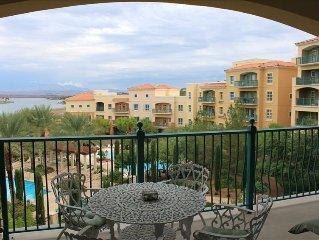Fabulous Lake Las Vegas View 1 Bdrm Condo - Montelago Village
