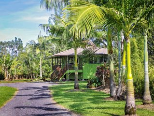 Secluded Garden Bungalow In The Jungle