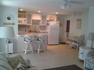 Coastal Cottage  - 150+/- Steps to the Sugary White Beach!