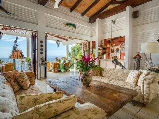 OCEAN views in Amazing Villa, SPECIAL NOW: Book 5 nites get 1 nt free