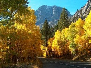 Beautiful June Lake, CA getaway in the Eastern Sierras.