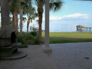 Romantic Escape; Open Gulf View; Your Own Private Dock!  Elevator to master.