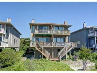 OCEANFRONT, THE BEACH IS YOUR BACKYARD SANDBOX!!!!!  Sleeps 8.