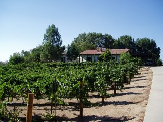 PRIVATE 2 BR, 2 BA GUESTHOUSE with Pool  - WALK TO WINERIES.