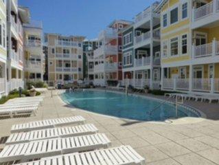 Luxury Beach Block Condo W/ Pool & Ocean View