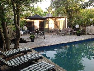 Stylish Ultra Private Mid Century Modern 3 Bedroom Beach House