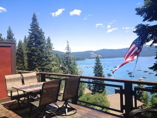 Luxury Lake Front, Stunning Views from 3 Levels - Private HOA Beach and Piers