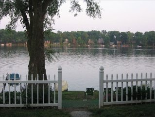 Quiet Lakefront Home on Private All Sports Lake