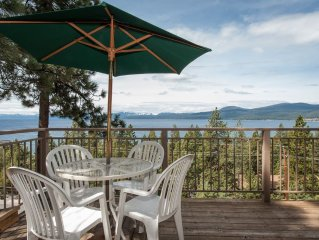 Breathtaking Views of North Lake Tahoe $200-$425 We are a 5 star review.