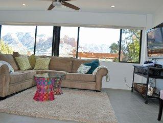 Beautiful Five Star - Large 1 Bedroom Villa in Heart of Uptown Sedona