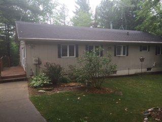 Wheeler Lake Family Retreat in Lakewood WI