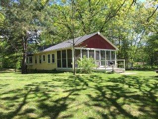Cottage Retreat on Beautiful Chisago Lake