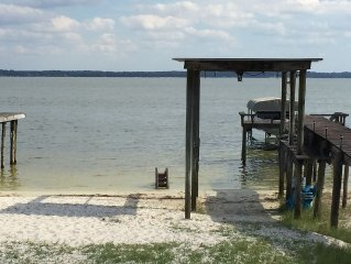 Inquire on last minute specials!! Big Lake Weir 4/3 with rv hookups on 1 acre