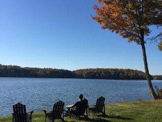 Private, Renovated Lakefront Cottage, Lake Namakagon, Chequamegon Nat. Forest