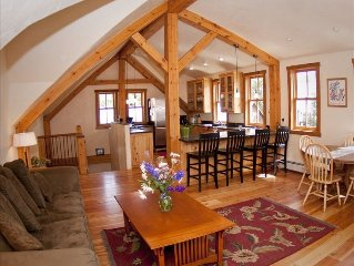 Beautiful Timber Frame Home In Downtown. Great Location Just off Elk Ave!