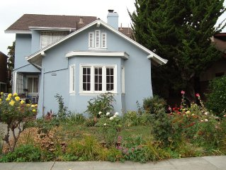 Berkeley Charmer in coveted Elmwood. Close to UCB and transportation