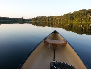Quiet 3 Acres On DNR Fishing Lake With 200' Of Shoreline Just Outside Longville