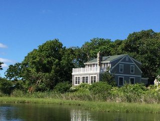 Waterfront Home in Oak Bluffs - Walk to Town and Beach