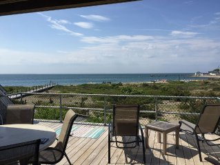 Sunset And Oceanfront Views In Montauk