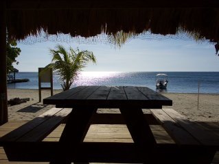 Very Private Beach With 8 Hammock Shade Deck. Come Enjoy Our Peaceful Paradise!