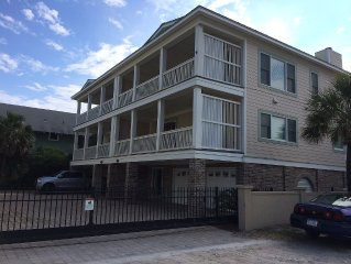 19th Street beach side; Steps to beach; Sleeps 12; View