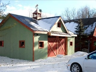 Charming Post and Beam Barn Home