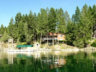 Grandma's cabin in the woods on the lake!