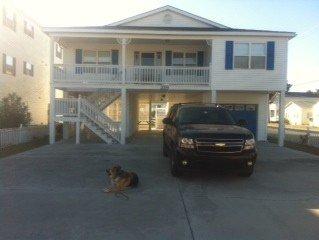 Private Luxury Home 4 Bdrm, 3 Bath, Ocean Block, Cherry Grove, alquiler de vacaciones en North Myrtle Beach