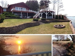 DREAM LAKE HOUSE RETREAT on LAKE ONTARIO NY **GAMES ROOM**FIREPIT**PET FRIENDLY