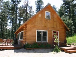 Log Cabin by Nemo Close To Sturgis Rally and Deadwood. Motorcycle ATV Hunting