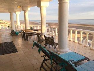SPOTLESS, MODERN BEACH FRONT House in Las Conchas. PRIME BEACH. 5 STAR REVIEWS.