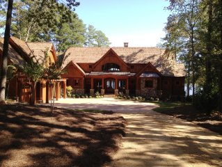 Lakefront Ritz Carlton Style Lodge Home with Infinity Edge Pool!