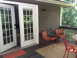 Garden Apartment In Pisgah Forest 20 Minutes To Ashville And World Class Hiking,