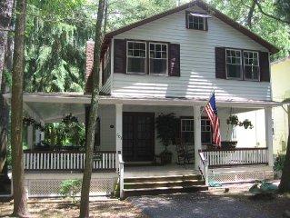 Original Campmeeting cottage with spacious wrap around proch