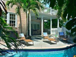 Secret Villa II * Old Town: Beautiful Home w/ Private Pool, 2 blocks to Duval!