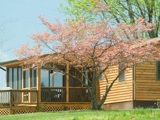 'Pond House' - on Huge Horse Farm; Great for Young Families