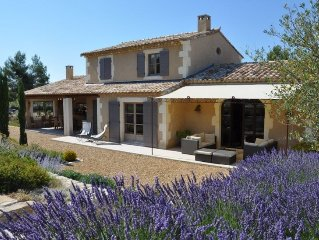 Typical Provencal Villa with Heated Swimming Pool