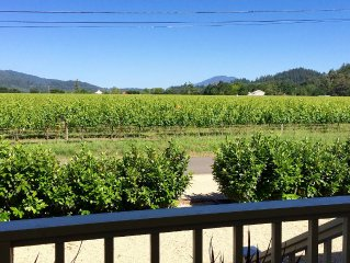 2 bdrm Vineyard View Farmhouse close to downtown St. Helena (Permit #2013-47)