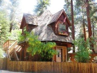 Romantic Gingerbread Cottage
