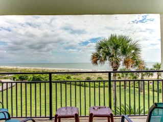 Amazing Unobstructed Ocean Views in Newly Decorated Beach Walker Villa