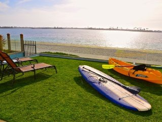 BIKES, PADDLEBOARDS, KAYAKS INCLUDED!