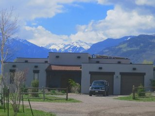 RIDGWAY'S FINEST: Mountain views, backs to open space, open floor plan, in town!