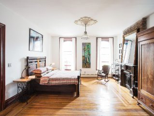 Sunny, Spacious & Central: Fabulous Suites In The Heart of Historic Hudson, NY