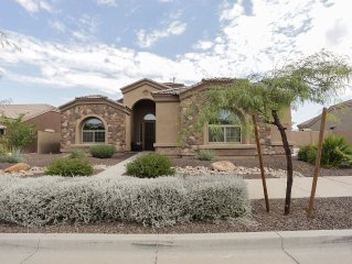 1 Story Home With Private Heated Pool And Pickleball Court, Near Golf Courses