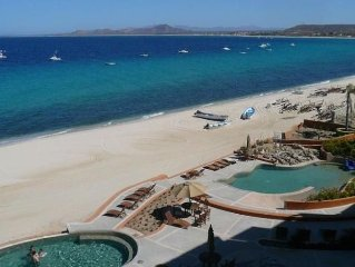 Beachfront, Top Floor Condo at Villas De Cortez