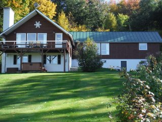 Beautiful family home with hot tub * views of Mt. Mansfield * WiFi