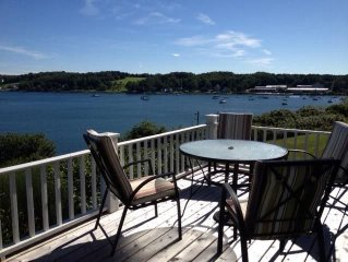 4 BR, 3 BR oceanfront home on Mahone Bay, NS with detached bunkhouse and garage